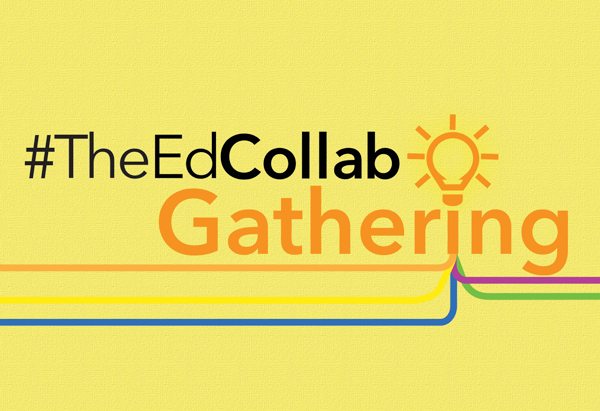 Logo for The Educator Collaborative's Gathering, online conference.